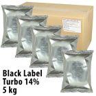 Black Label Turbo 14%, 5 kg